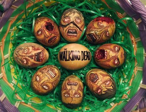 amazing easter eggs nerdy bits walking dead easter eggs mystique paint