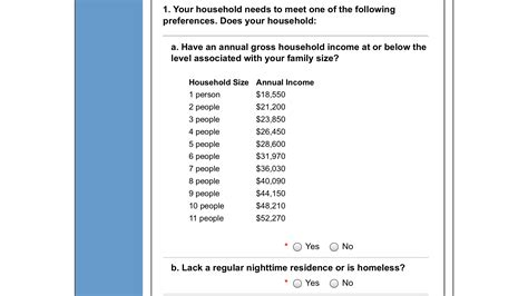 application for section 8 housing king county receives flood of section 8 housing applicants