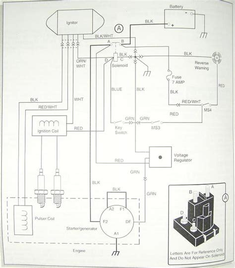 1983 ez go golf cart gas wiring diagram wiring diagram