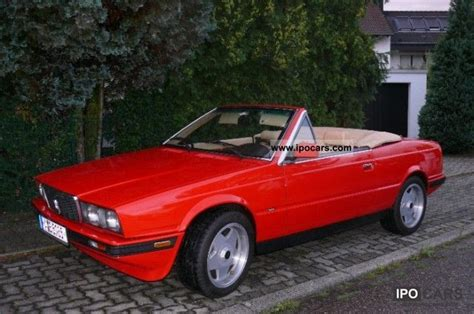 1985 maserati biturbo specs 1985 maserati biturbo spyder car photo and specs
