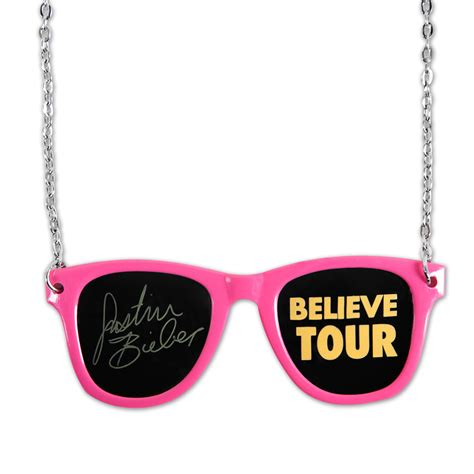 justin bieber sunglasses necklace musictoday superstore