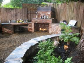 outdoor fireplaces and pits diy