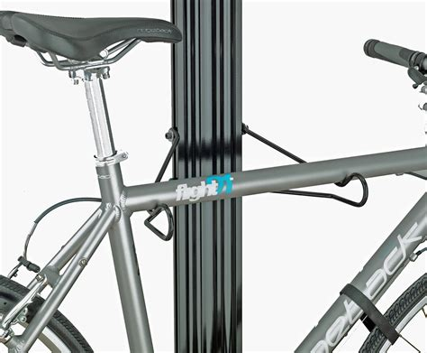 Floor To Ceiling Bike Stand by Gear Up Bua Aluminum Floor To Ceiling Bike Storage Rack