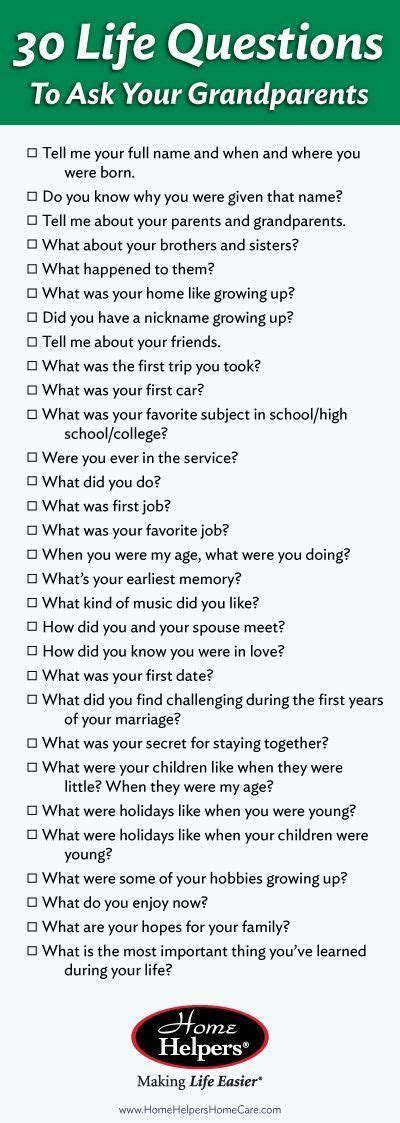 25 interview questions for a biography best 25 nursing home activities ideas on pinterest