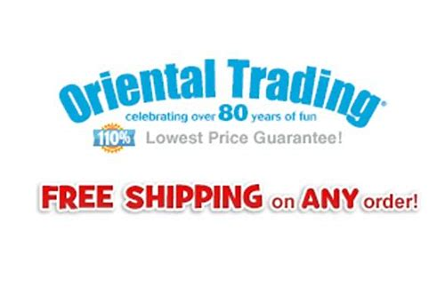 oriental trading free shipping coupon code 2018
