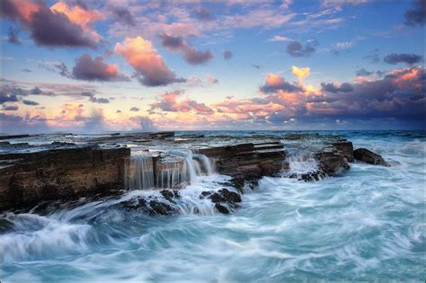 Beautiful Seascape paintings Q Alphabet Wallpaper