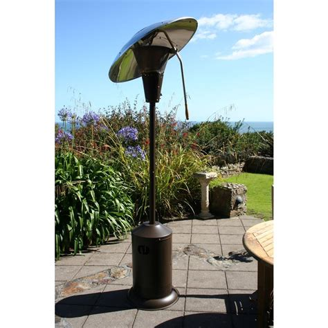 Mirage Patio Heater Mirage 38 200 Btu Heat Focusing Patio Heater Vip Outlet