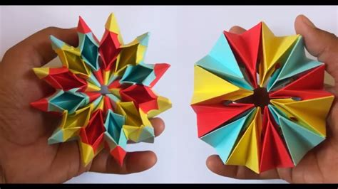 How To Make A Origami Magic Circle - how to make easy origami magic circle fireworks diy
