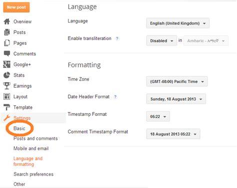 blogger description how to add blog description on blogger blogger tutorials