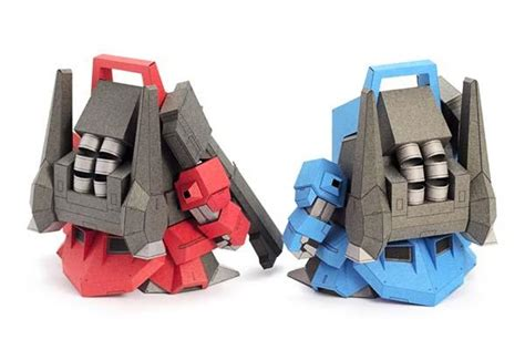 Cool Papercraft - the 5cm gundam v4 papercrafts gadgetsin