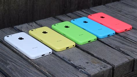 iphone c colors iphone 5c on shows iphone 5c in all five