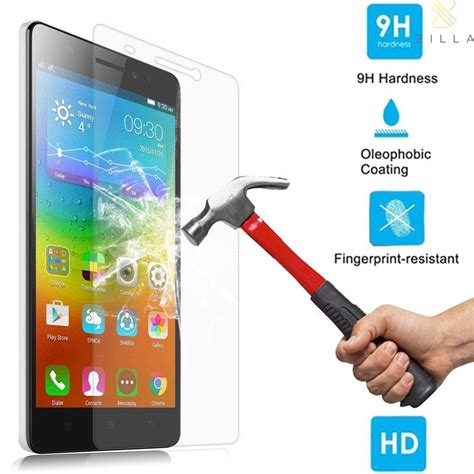 Tempered Glass Protection Screen Lenovo K3 Note A7000 zilla 2 5d tempered glass curved edge 9h 0 26mm for lenovo