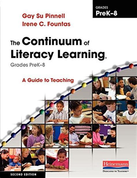 the fountas pinnell literacy continuum expanded edition a tool for assessment planning and teaching prek 8 cheapest copy of the continuum of literacy learning
