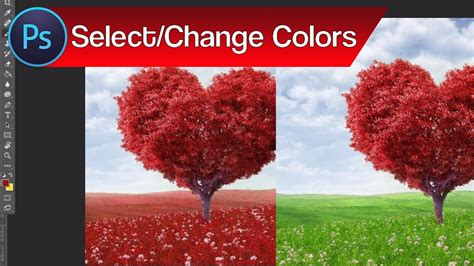 how to change color of object in photoshop how to select and change colors in photoshop change