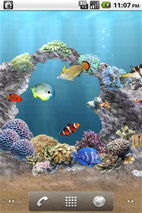 anipet aquarium livewallpaper for android free download