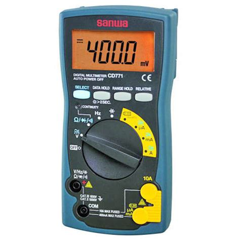 Produk Digital Multimeter Dekko 86d jual sanwa cd771 digital multimeter agen resmi jakarta dan ltc glodok