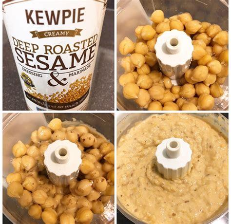 kewpie toasted sesame dressing hawaii hummus recipe using kewpie roasted