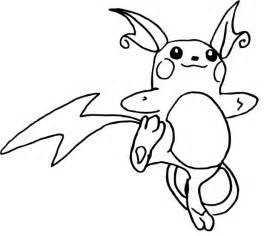 raichu coloring page raichu coloring pages coloring pages
