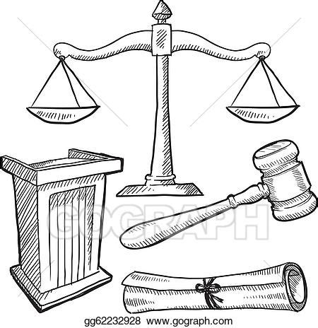 libro the laws sketchbook for vector stock justice or law objects sketch clipart illustration gg62232928 gograph