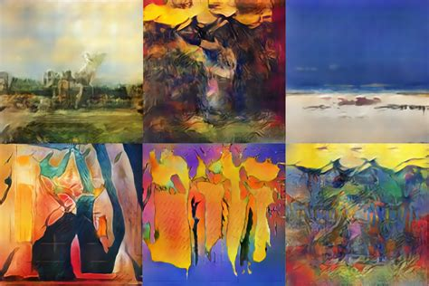 paint styles artificially intelligent painters invent new styles of art