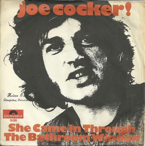 she came in through the bathroom window joe cocker 45cat joe cocker she came in through the bathroom