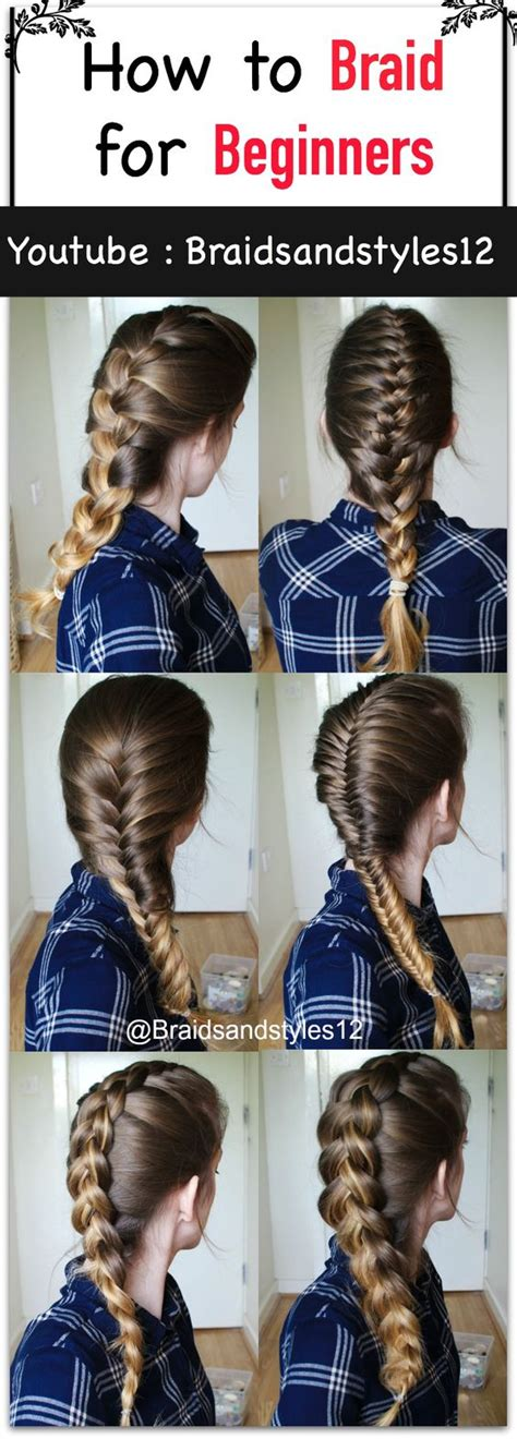 Easy Braided Hairstyles For Beginners by Easy Braided Hairstyles For Beginners Www Imgkid