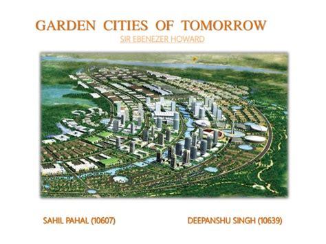 Garden Cities by Garden Cities Of Tommorow By Sir Ebenezer Howard