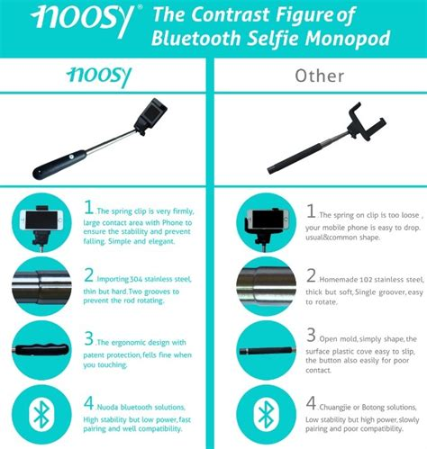 Tongsis Noosy noosy tongsis wireless self timer monopod for ios and android br04 pink jakartanotebook