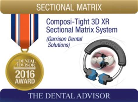 sectional matrix system composi tight 3d xr sectional matrix system 2016 award