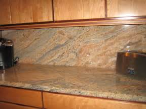granite splashback the kitchen design