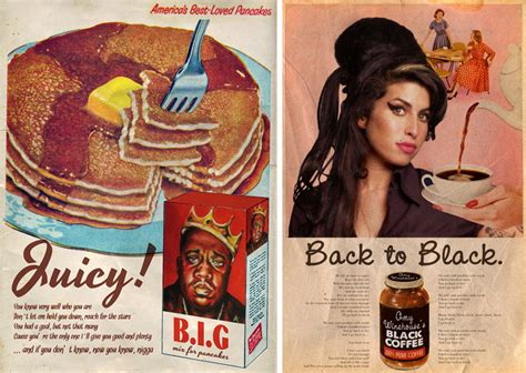 designboom advertising david redon remixes vintage american ads with pop icons