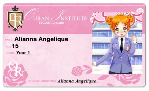 student id card template png alianna ouran student id card 3 by alianna013 on deviantart