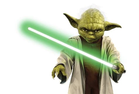 imagenes en png de star wars yoda lightsaber star wars transparent png