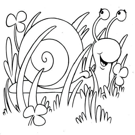 dibujos para colorear primavera dibujos para colorear insectos en primavera