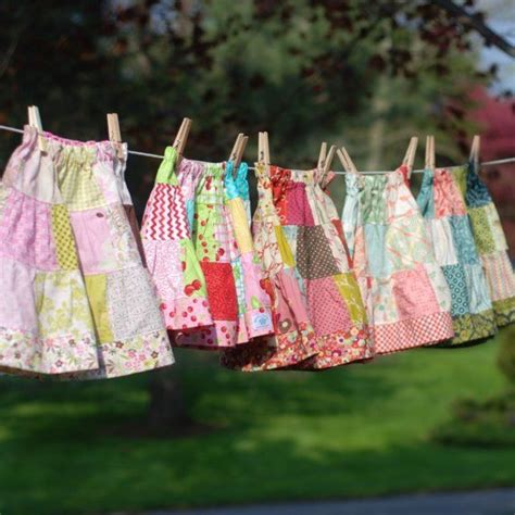 Patchwork Skirt Pattern - 17 best images about patchwork skirts on