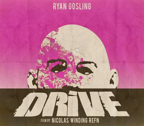 drive character posters collider drive movie posters created by fans collider