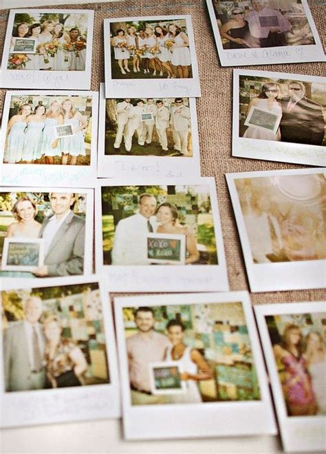 polaroid picture wedding guest book 10 must see wedding guest book ideas alternatives the