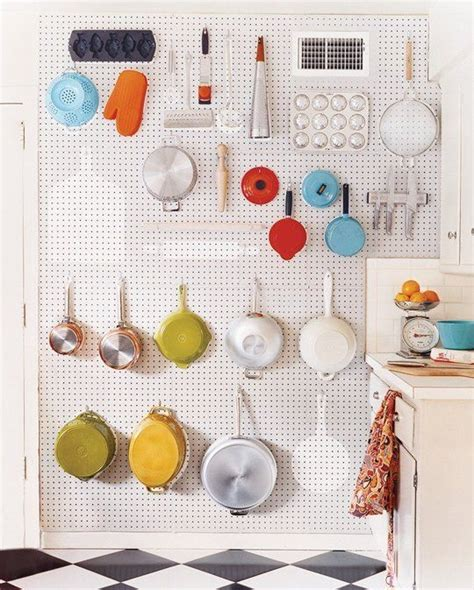 pegboard kitchen ideas 17 best ideas about kitchen pegboard on