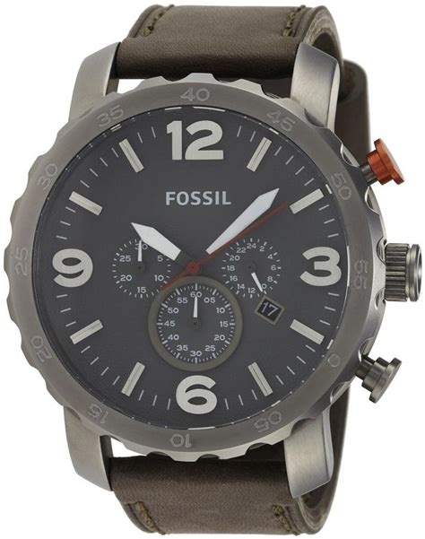 Fossil Nate Black Grey fossil nate chronograph oversized end 7 2 2017 9 15 pm