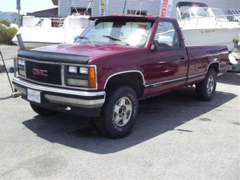 purchase used 1988 gmc sle 4x4 work