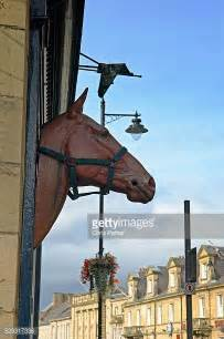 fake horse head alnwick photos et images de collection getty images