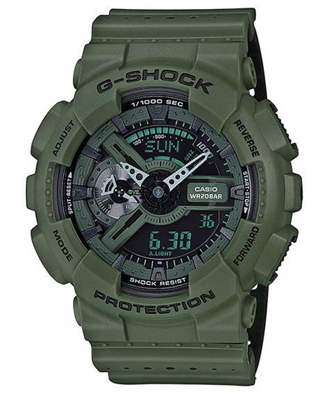 G Shock Ga 1000 Green Angka White g shock black green white blue magenta ga 110lp