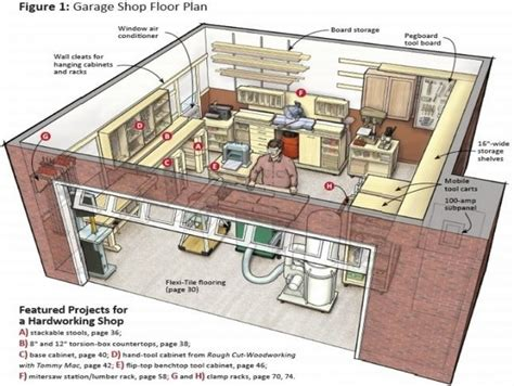 Shop Storage Plans by Garage Workshop Plans Jpg 648 215 488 Garage Storage Ideas