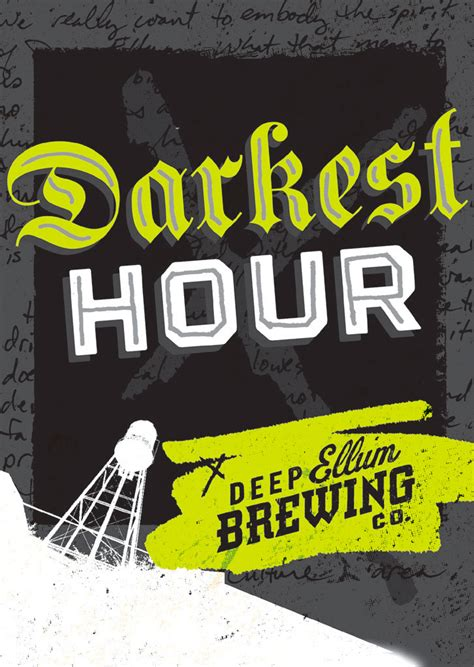 darkest hour beer deep ellum brewing co oh beautiful beer