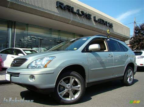 lexus green 2007 lexus rx 400h awd hybrid in bamboo green pearl photo