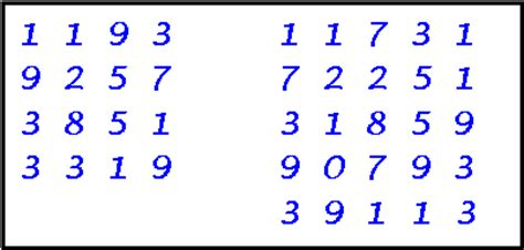 pattern of perfect numbers prime patterns