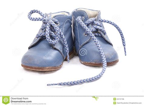 blue baby shoes blue baby shoes royalty free stock image image 24747706