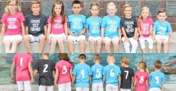 best shopping deals for black friday custom numbered cousin shirts 12 99 from 25