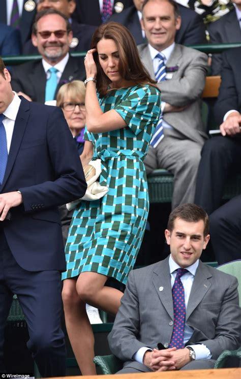 kate middleton at wimbledon 2014 księżna catherine kate i william na finale wimbledonu