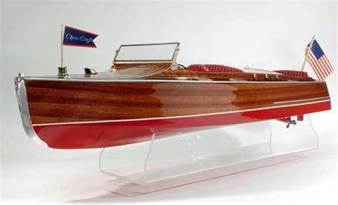 dumas chris craft model boats 1930 24 chris craft runabout